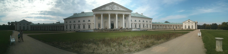 Panoráma zámku Kačina